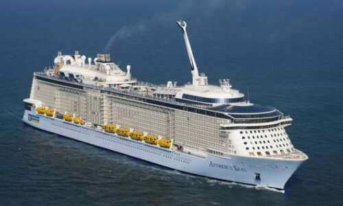 Christening for Bermuda-bound cruise ship - The Royal ...