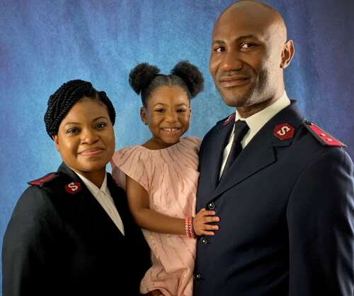 Five new faces join the Salvation Army